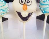 Disney Frozen Olaf  Cake Pops