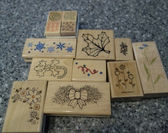 CLEARANCE - Scrapbooking Stamps