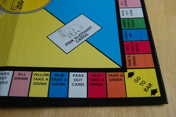 Bresee Drinking Board Game