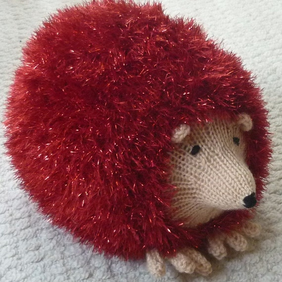 Small Hedgehog Knitting Pattern : Knitted Toy Pattern K9015 Small, Medium & Large Hedgehog ...