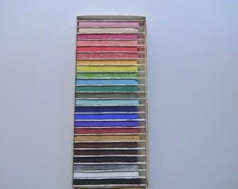 Vintage Nupastel Color Sticks 1970s