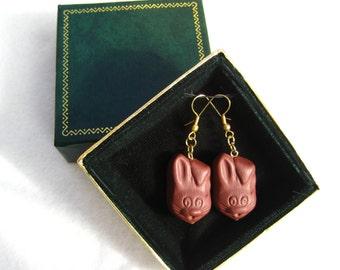 Happy Rabbit Earrings