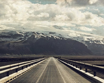 Iceland Ring Road Photograph - Gallery Wrapped Fine Art Canvas Print - Multiple Sizes