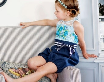 NEW: Haven Romper and Dress PDF Pattern & Tutorial, All sizes 6M-10 years included