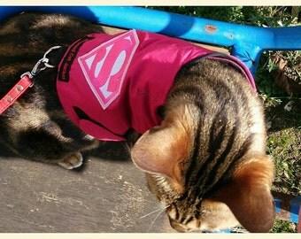Mynwood Cat Walking Jacket Harness Vest Supergirl