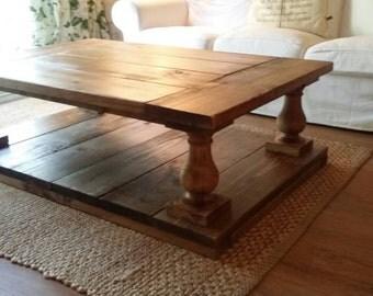 Balustrade Coffee Table Free Shipping