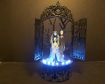 Corpse Bride Victoria Amp Victor Wedding Cake Topper By