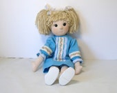 Doll, cloth hug doll, soft sculpture doll