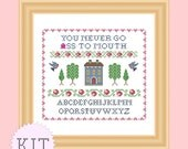 Cross Stitch KIT Clerks 2 mature