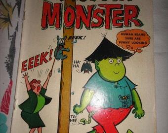 Melvin Monster Comic Book #3, Dell 1965 Stanley written & Illustrations
