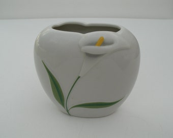 Vintage Porcelain Cally Lily Vase - Bud Vase - Made in Japan