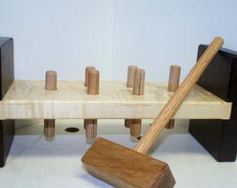 Hammer and Peg Bench