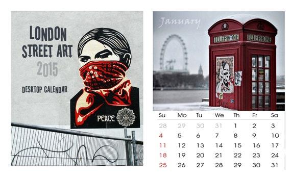Art Calendar London : Calendar street art london graffiti banksy by londondream