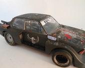Scale Model, Rat Rod, BMW Car,  Black, Classicwrecks,OOAK