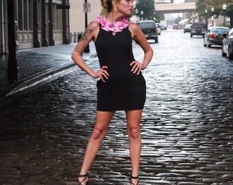 Pandora's Women's Pleated Collar Dress PDF Pattern size XS to XL