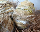 Rustic Yarn and Jute Easter Eggs