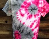 BLOWUT Acid trip yin yang tie dye grunge oversized tee