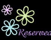 Reserved for Udream2day