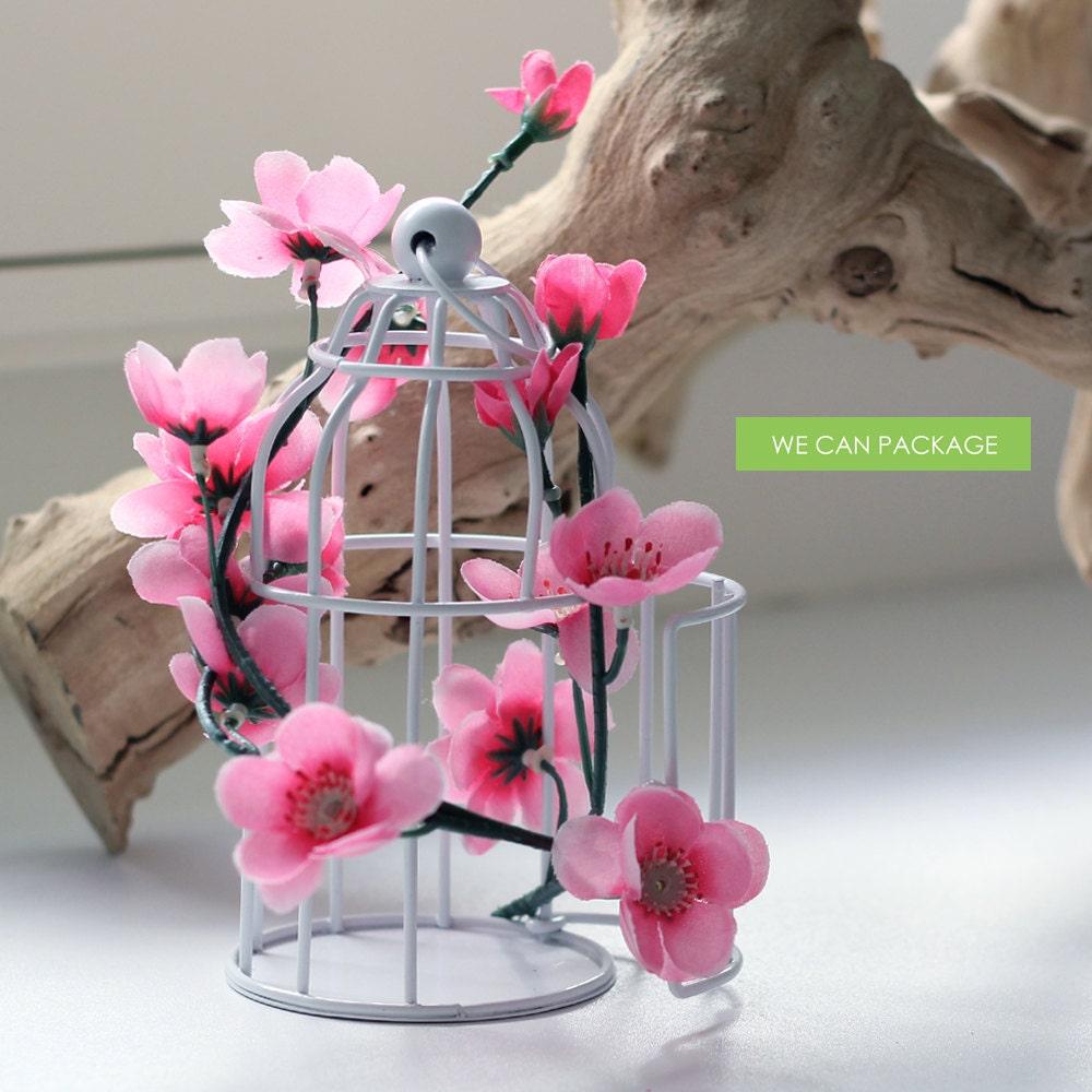 Mini birdcage centerpieces - photo#9