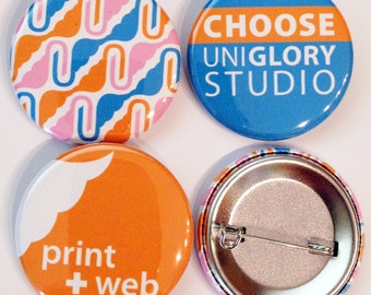 1,000 1.5 inch Full color Custom Buttons. We can make ANY size quantity in 3 different sizes.