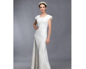 Unique wedding dress | Felted wedding dress | bridal dress | handmade dress | winter wedding | original bridal dress
