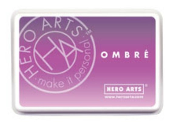 Hero Arts Ombre Light to Dark Purple Grape Ink AF313