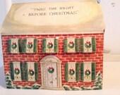 """Vintage """"Hallmark"""" Advent House"""