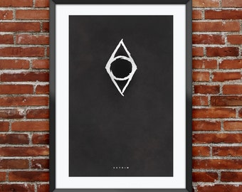 """Skyrim Thieves Guild inspired print 11X17"""""""