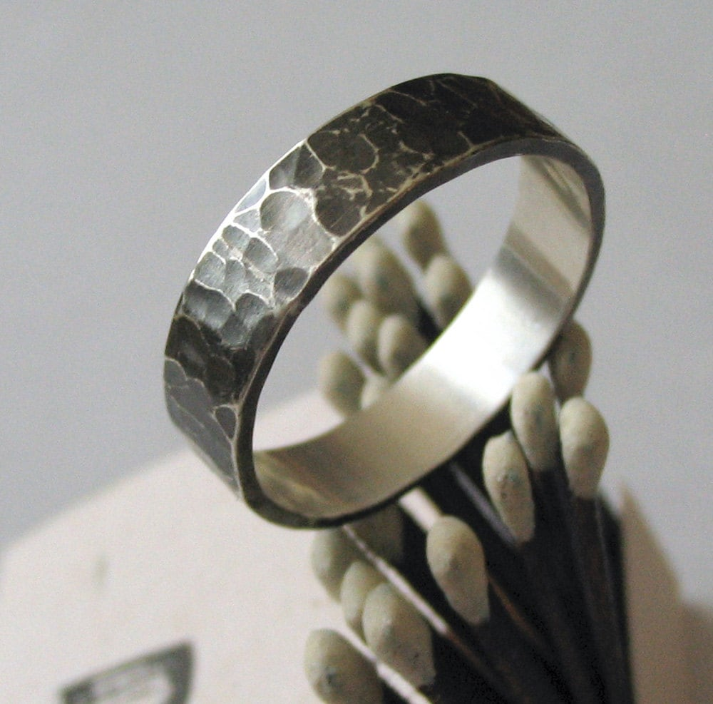 s wedding ring wedding band sterling silver by