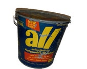 Old Advertising All Laundry Soap Detergent Metal Bucket