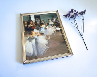 Vintage Picture Frame 8 x 10 - Silver Embossed Metal Picture Frame 8x10