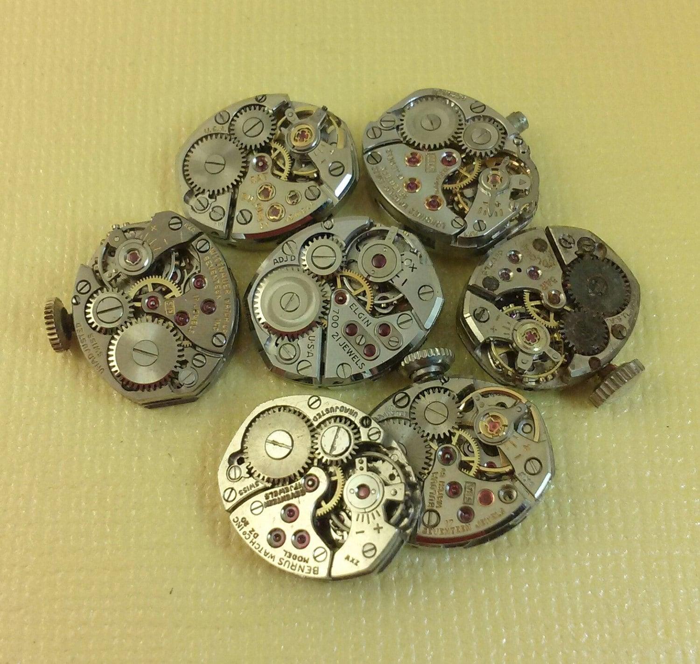 steampunk supply old watch movememt pair B1418 steampunk buy now online