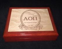 Wedding Gift For Sorority Sister : ... Gift,Greek Box,Sister Gift,Fraternity Gift,Wedding Gift,Keepsake Box