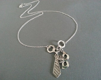 50 Shade of Grey Necklace