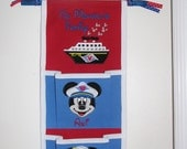 2 pocket Disney Cruise Fish Extender Captain Mickey and Minnie