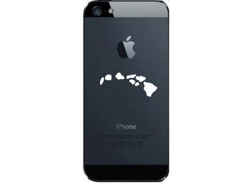Hawaii Island Chain Cell Phone Decal Hawaiian State Sticker C10