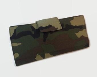 Women's Wallet 38 Credit Card Holder, Loyalty Card Organizer Camouflag Card Wallet