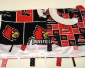 University of Louisville Blanket and Bib set.