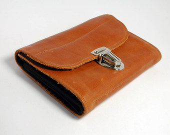 """purse """"yellow brown leather"""""""