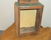 Old Wooden Tool Drawer Great for Shadowbox Art of Display Piece