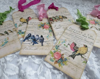 Gift Tags, Birds