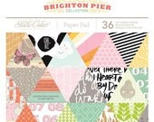 Studio Calico Brighton Pier 6x6 Paper Pad-- MSRP 6.00