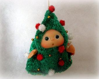 Christmas Tree   Christmas Stocking Staffers , Little Toy Christmas Stocking Filler, Christmas tree decoration made to order
