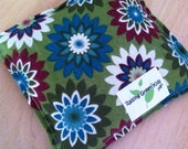 Flaxseed Filled Owie bags, Ouchie Bags, Natural Hot/Cold Therapy Packs green flower red blue white