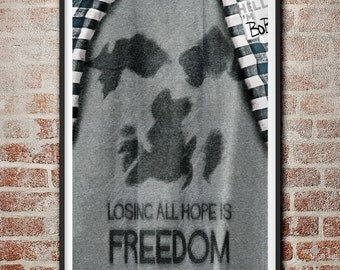 Losing All Hope Is Freedom Fight Club Poster