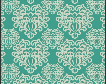 Art Gallery Fabric - Essentials - Passionate Spirit Teal - Patricia Bravo-Choose Your Cut 1/2 or Full Yard