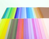 50 Colors Rainbow Origami Square Paper Pack for Origami Paper Project - 50 sheets