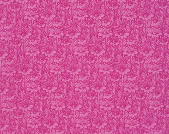 True Colors - Daisy Buds in Fuchsia - Tula Pink for Freespirit - PWTC029.FUCHS - 1/2 Yard