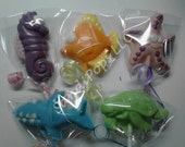 24 Sea Creature Under the Sea Chocolate Lollipop