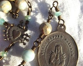 Our Lady of Sorrows Rosary Chaplet Seven 7 Sorrows Mater Dolorosa